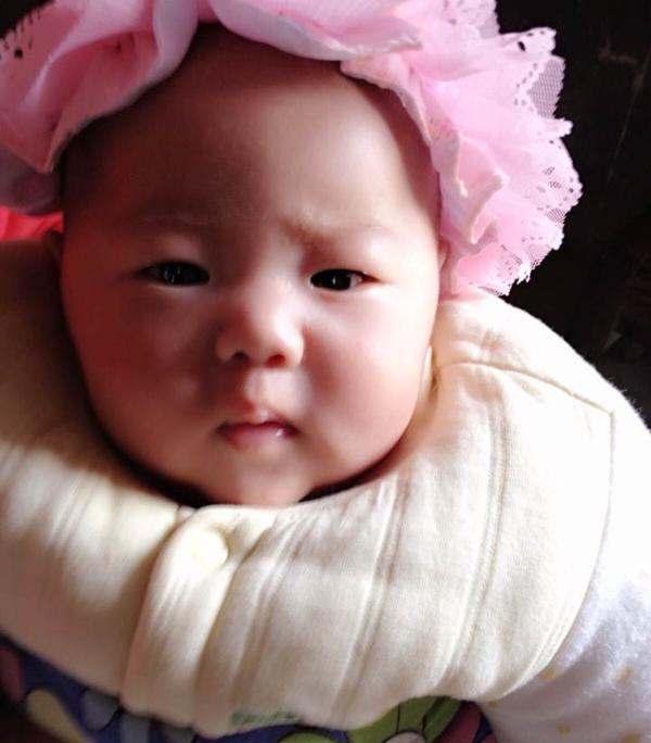 安徽李女士的漂亮宝宝